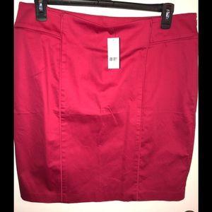 NWT Hot Pink NY&Co Pencil Skirt
